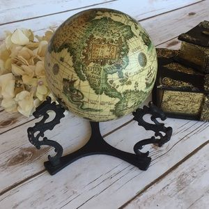 Other - Globe on Iron Stand